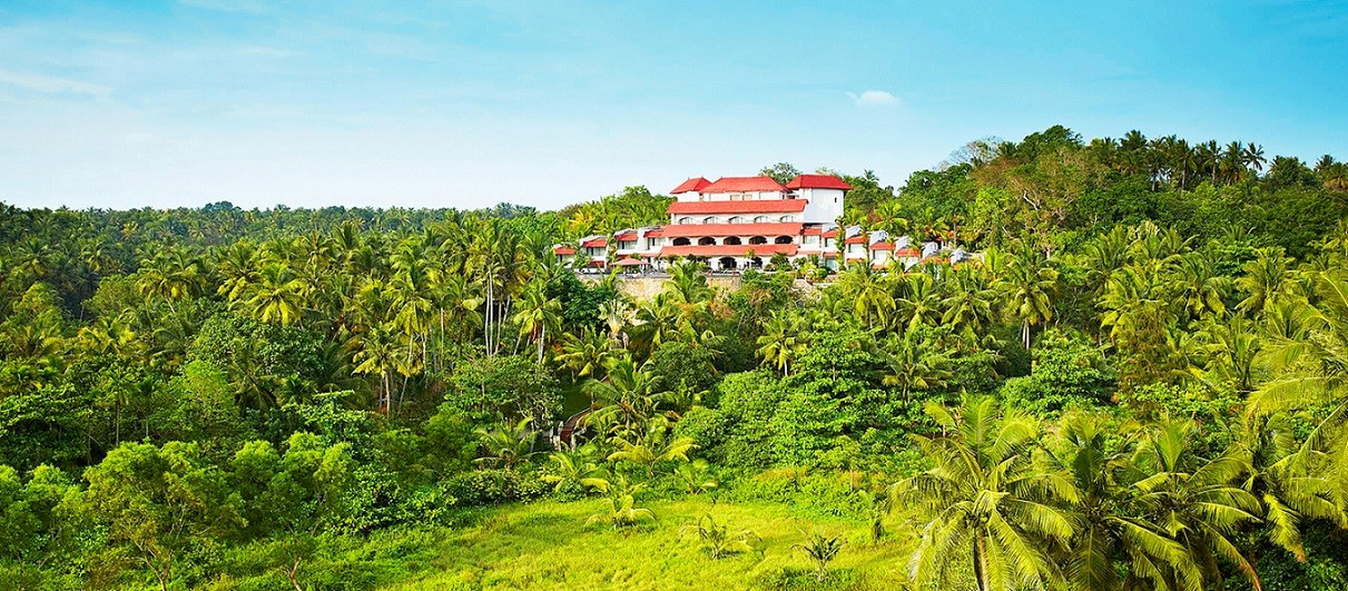 4 Star Hotel in Varkala - The Gateway Hotel Janardhanapuram - Landscape View - 3X2