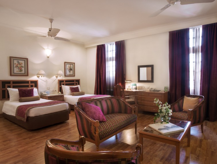 Living Area at Deluxe Room at Ambassador, New Delhi-IHCL SeleQtions
