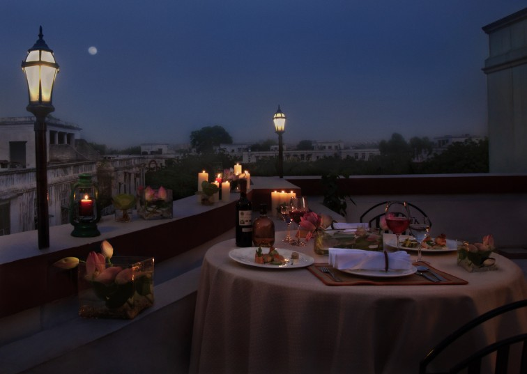 Dining under the Star at Ambassador, New Delhi-IHCL SeleQtions